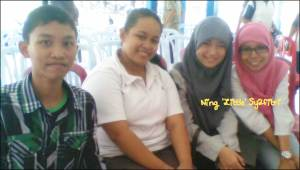 Left2right: Dayat, Ade, Febby, Ning