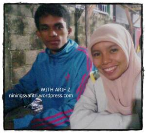 With Arif. Thanks, Diantii... :)