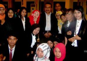 Bersama Dekan FKIP, Bapak Drs. Anwar, M.Pd