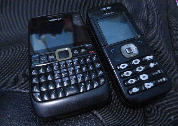 Nokia E63 dan 6030