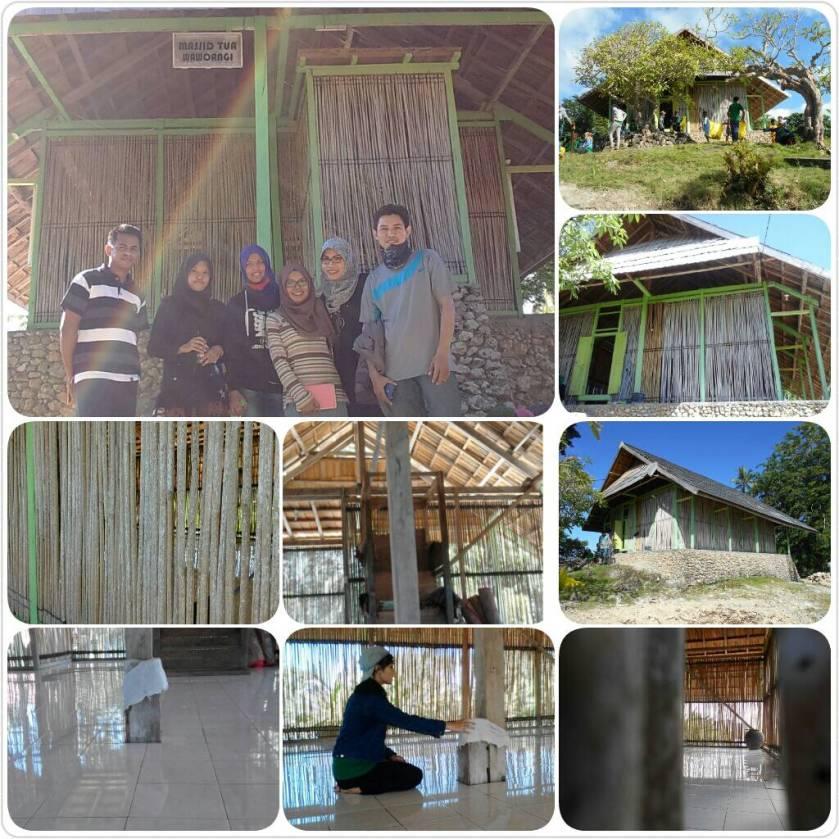 Mesjid Tua Wawoangi di Desa Wawoangi, Sampolawa, Buton Selatan